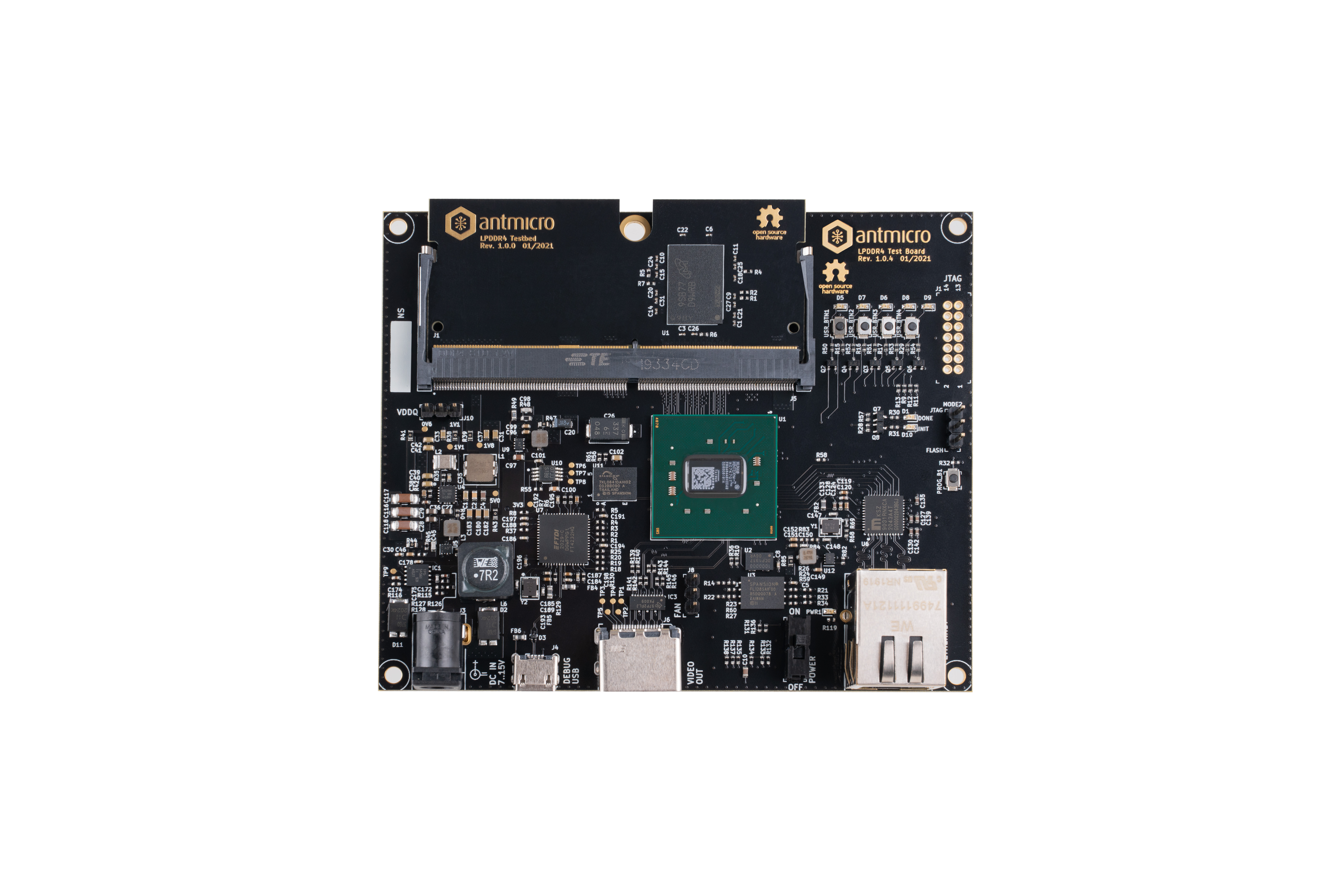 LPDDR4 test platform