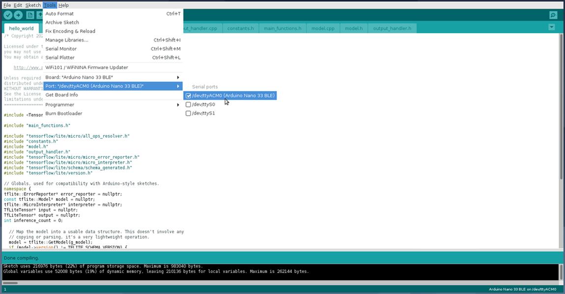 Arduino IDE libraries