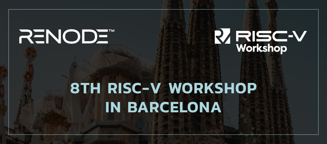 Renode presented at the 8th RISC-V Workshop