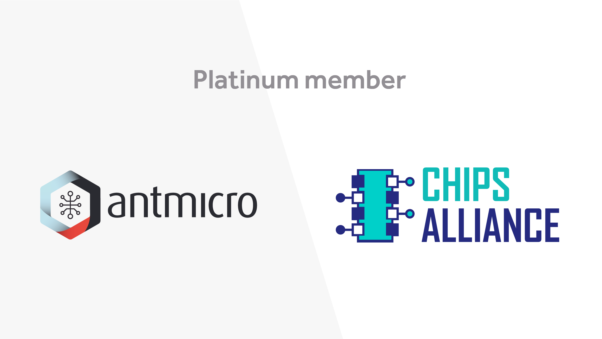 Antmicro and CHIPS Alliance logo