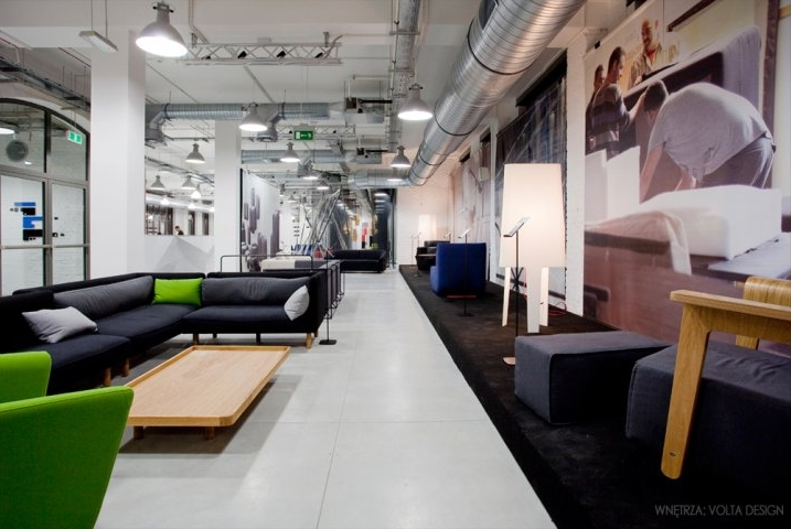 The common space in Concordia Design