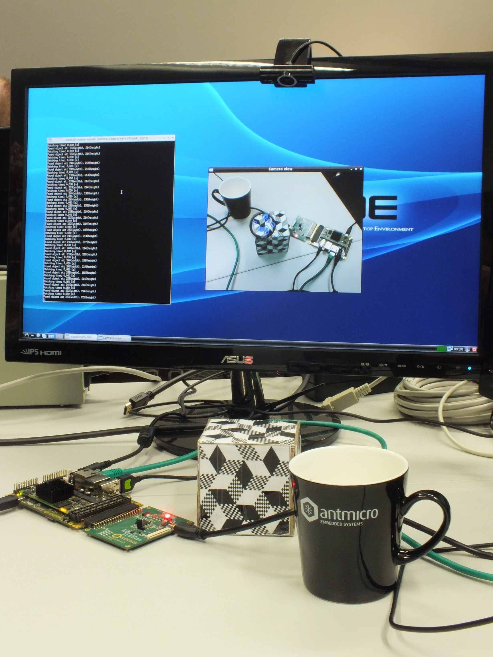 Zynq video processing demo