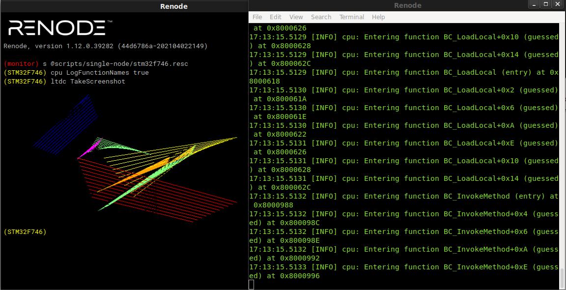 Framebuffer screenshot