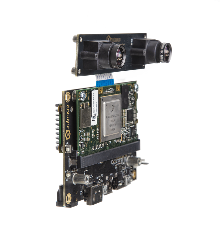 Antmicro's Apalis iMX8 smart vision kit with Myriad 1
