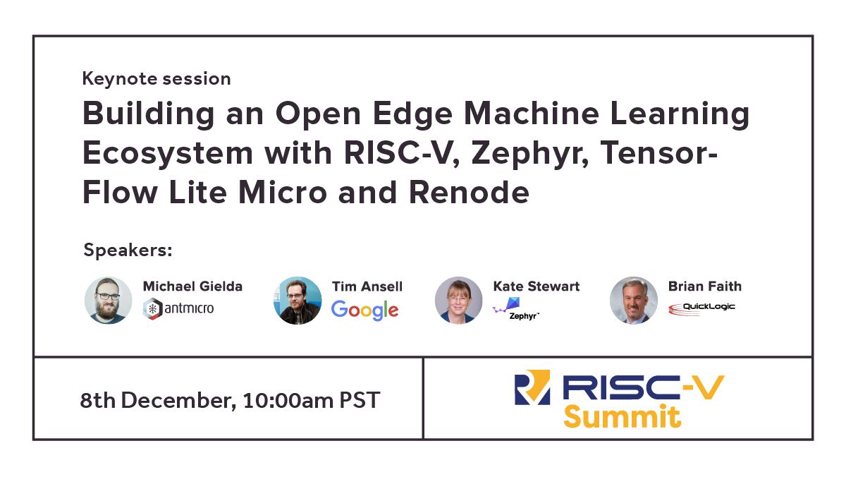RISC-V Summit keynote