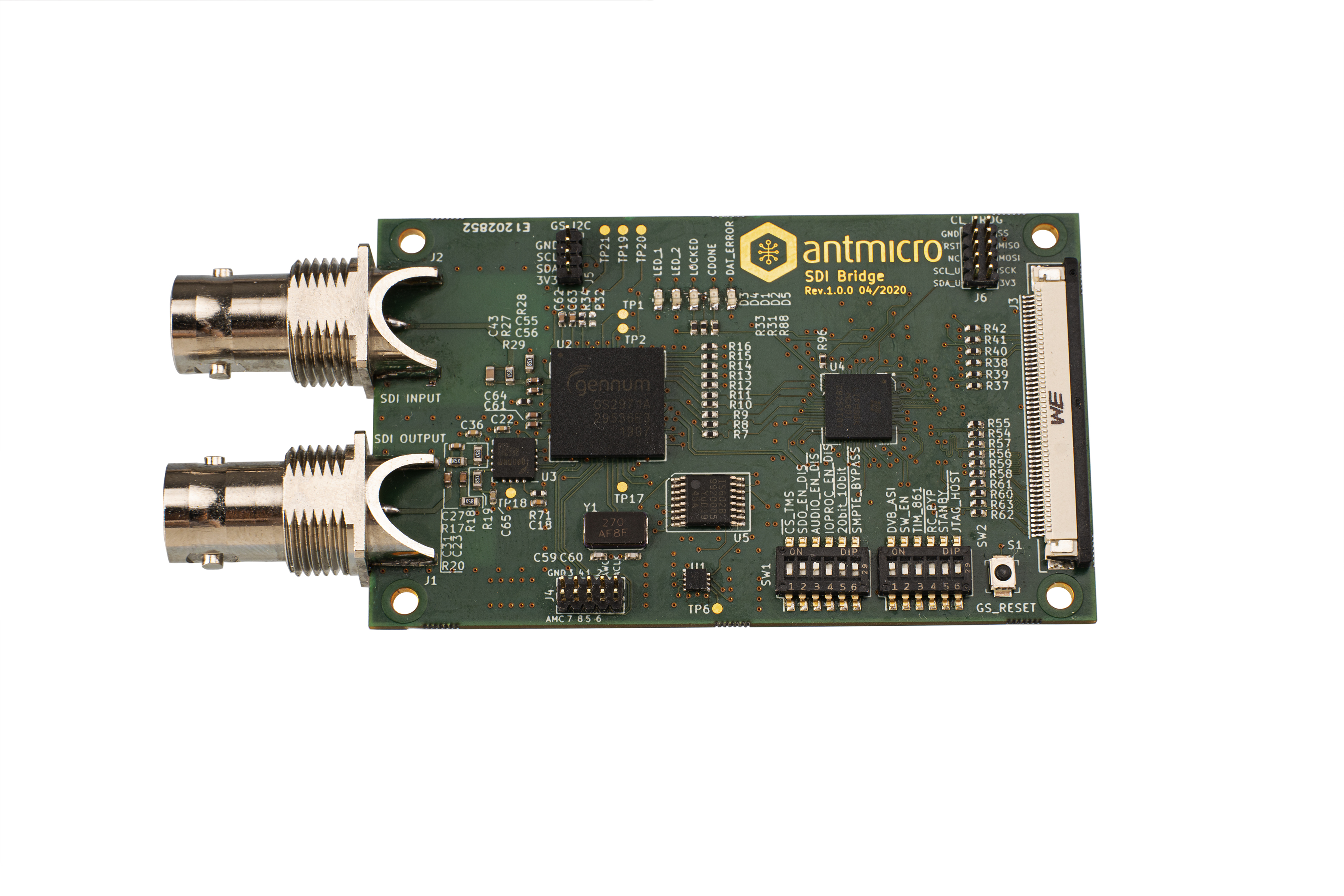 Antmicro's open source SDI-to-MIPI bridge