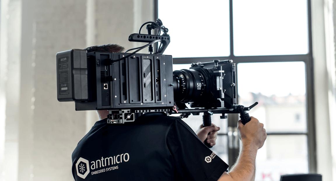 Antmicro · AXIOM Gamma 4K camera platform